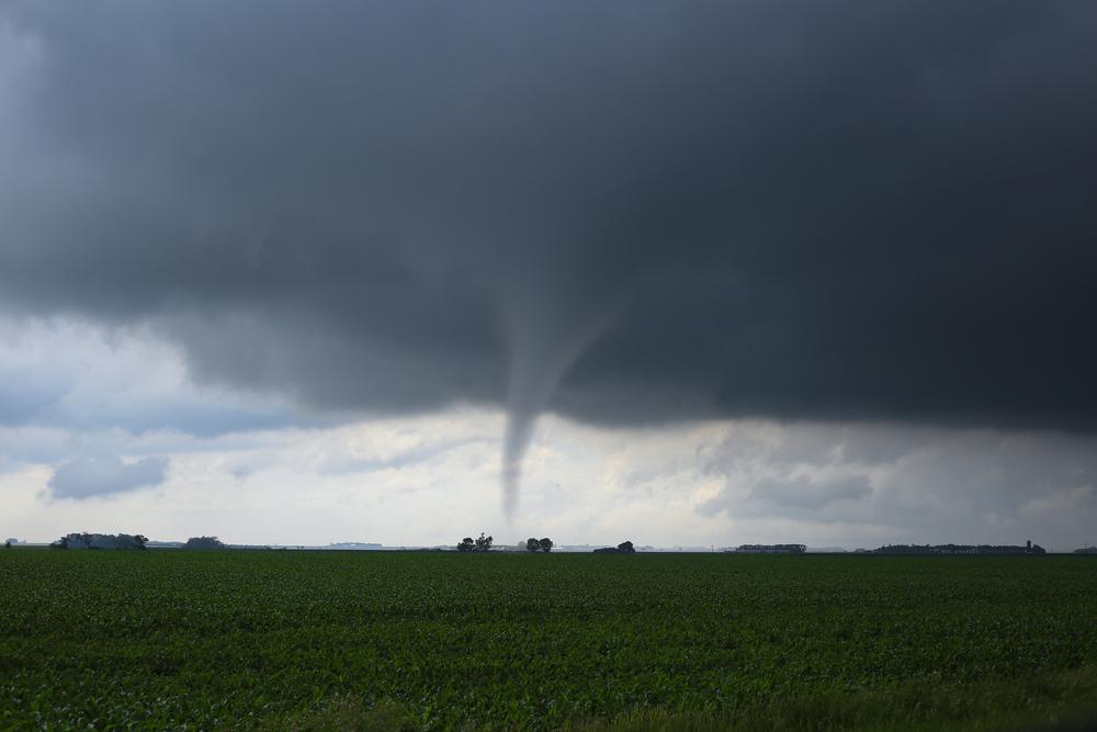 Tornado in western Minnesota.