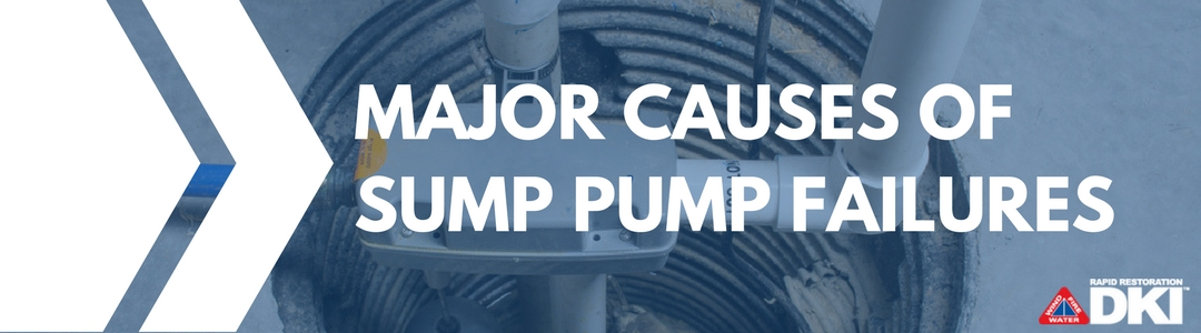 Major Causes of Sump Pump Failure