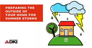 Preparing your home for summer storms header