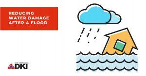 Water damage reduce header