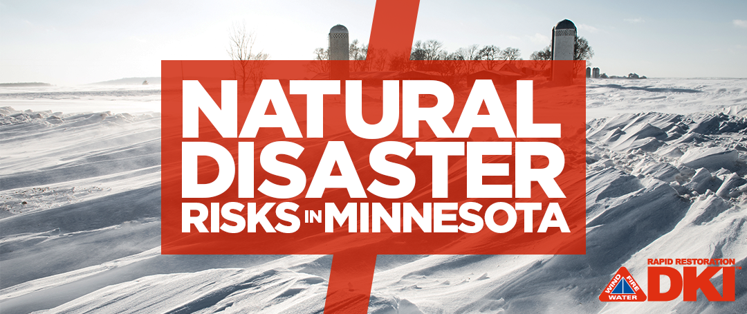 Natural disaster risks in Minnesota