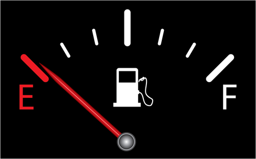 Gas tank empty