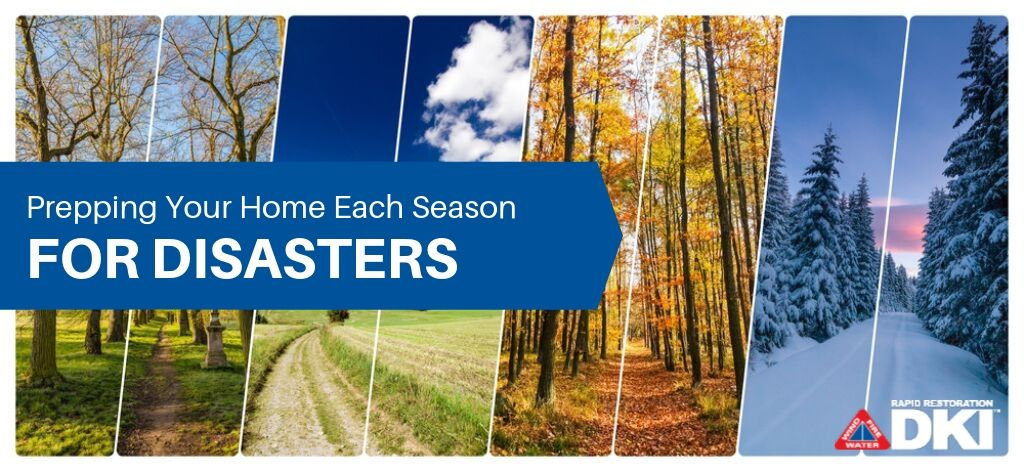 Prepping your home each season for disasters.