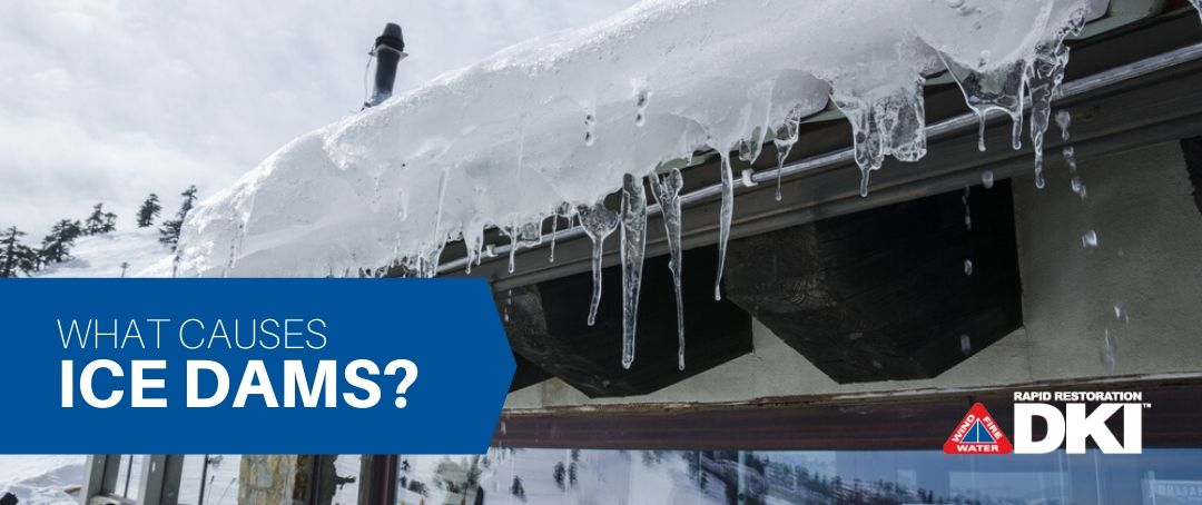 what causes ice dams